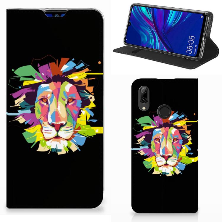 Huawei P Smart (2019) Magnet Case Lion Color