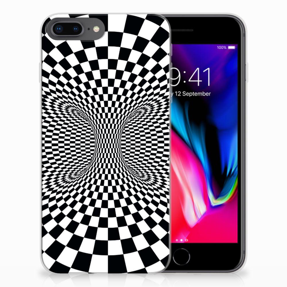 Apple iPhone 7 Plus | 8 Plus TPU Hoesje Illusie