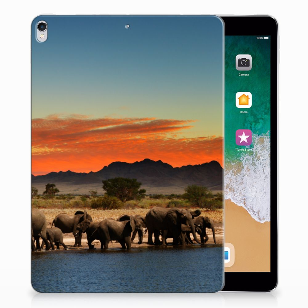 Apple iPad Pro 10.5 Tablethoesje Design Olifanten