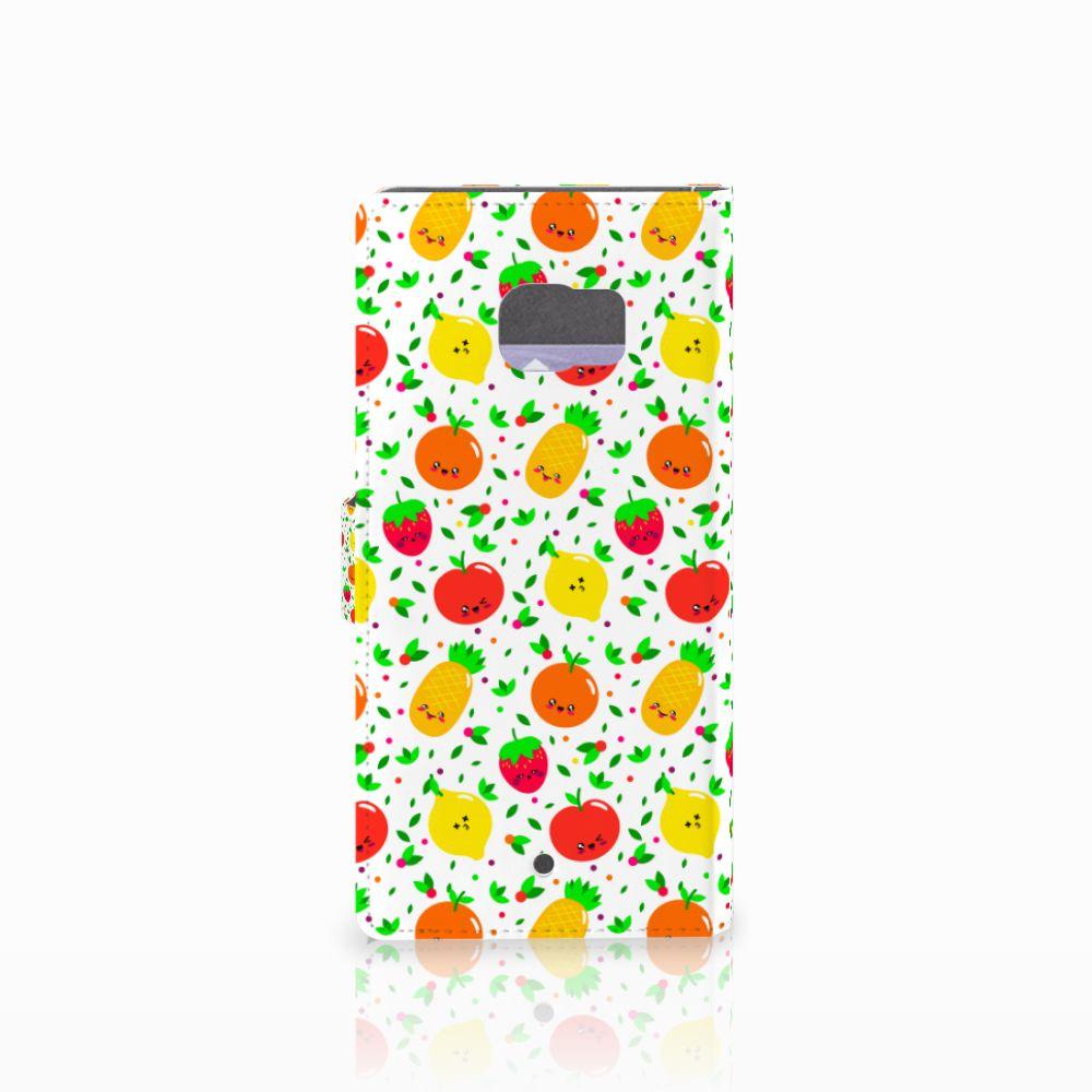 HTC U Ultra Book Cover Fruits