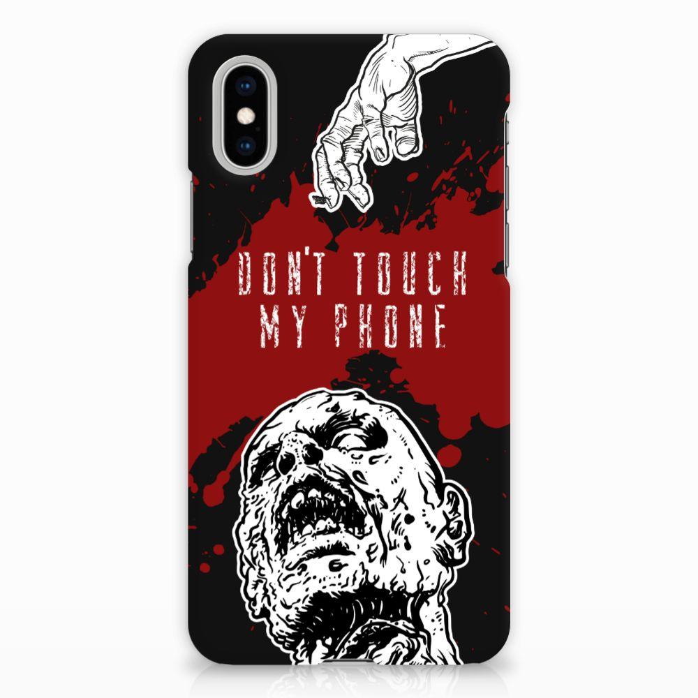 Apple iPhone X | Xs Hardcase Hoesje Design Zombie Blood