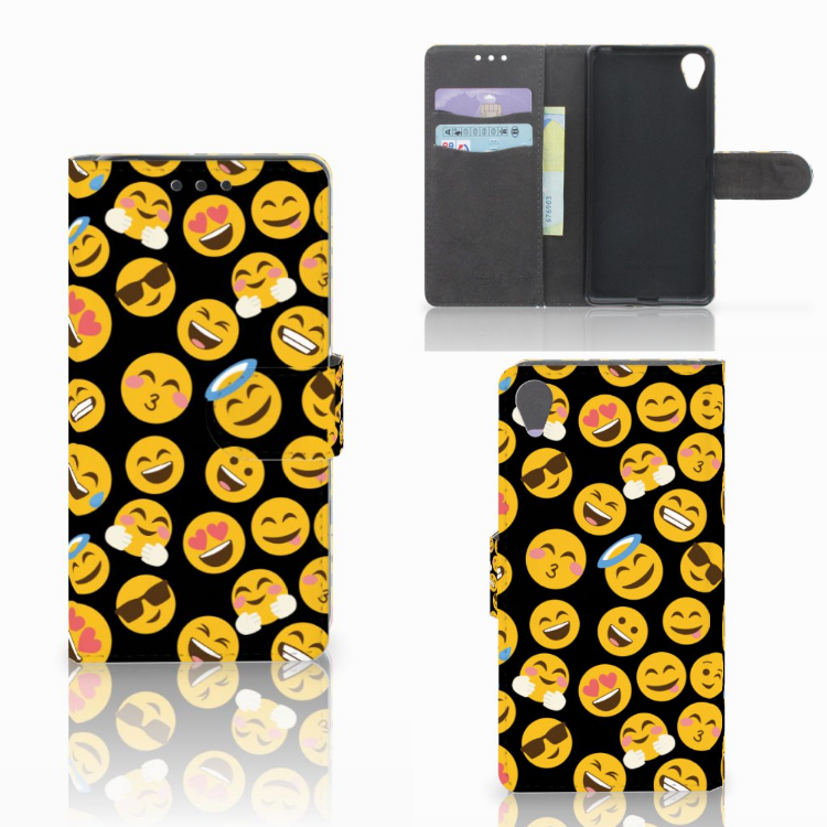 Sony Xperia X Telefoon Hoesje Emoji