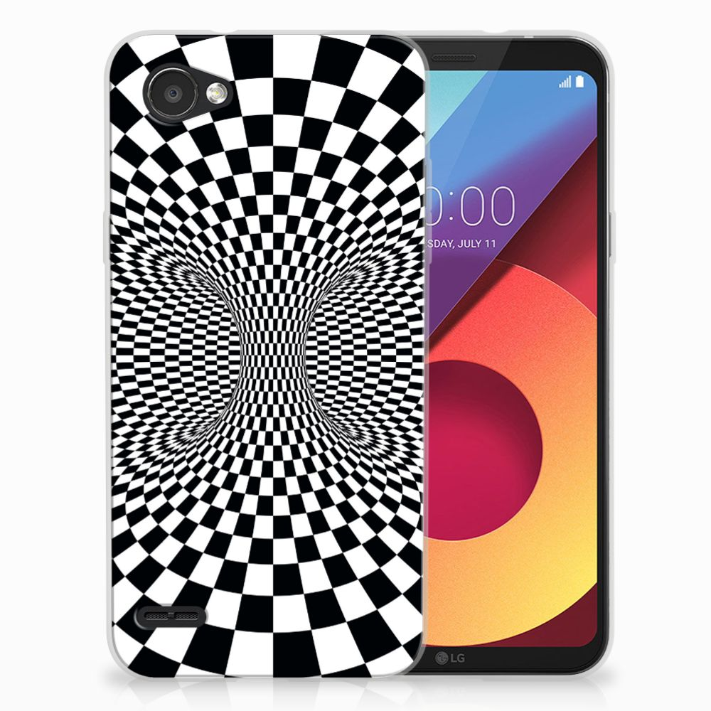 LG Q6   LG Q6 Plus TPU Hoesje Design Illusie