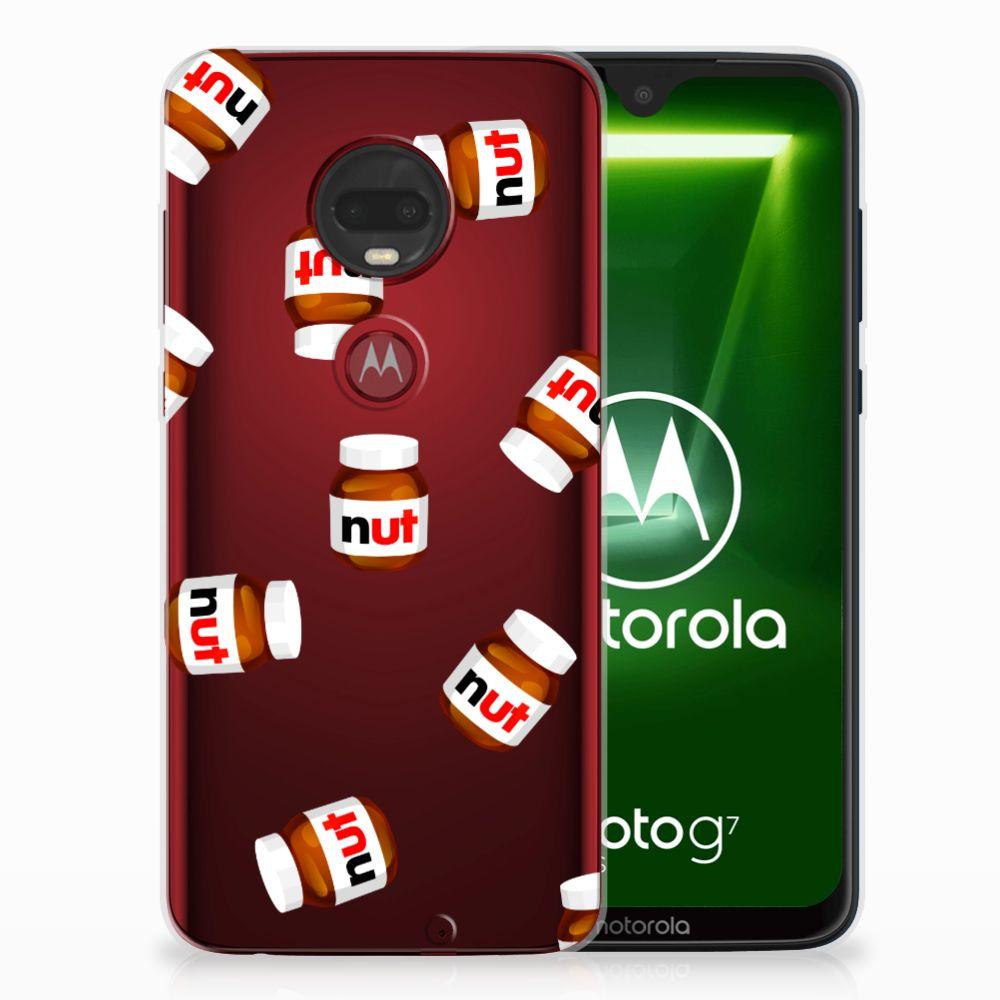 Motorola Moto G7 | G7 Plus Siliconen Case Nut Jar