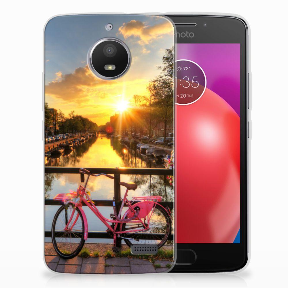 Motorola Moto E4 Uniek TPU Hoesje Amsterdamse Grachten
