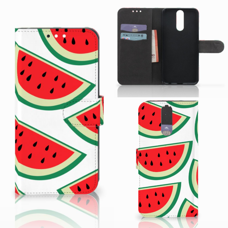 Huawei Mate 10 Lite Book Cover Watermelons