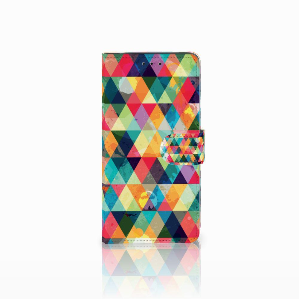 Samsung Galaxy J6 Plus (2018) Telefoon Hoesje Geruit