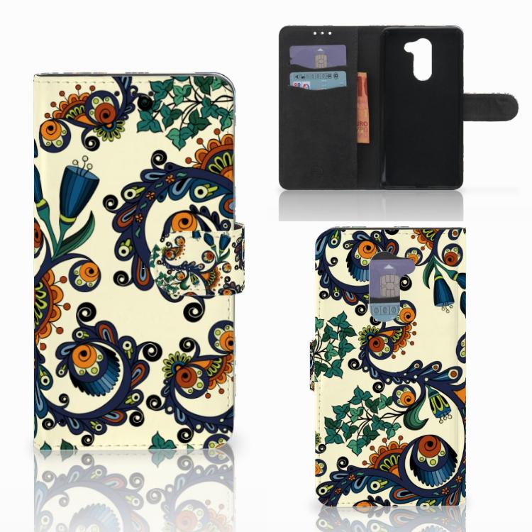 Wallet Case Huawei Honor 6X Barok Flower