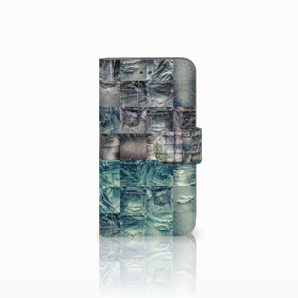 Samsung Galaxy Xcover 3 | Xcover 3 VE Uniek Boekhoesje Spijkerbroeken