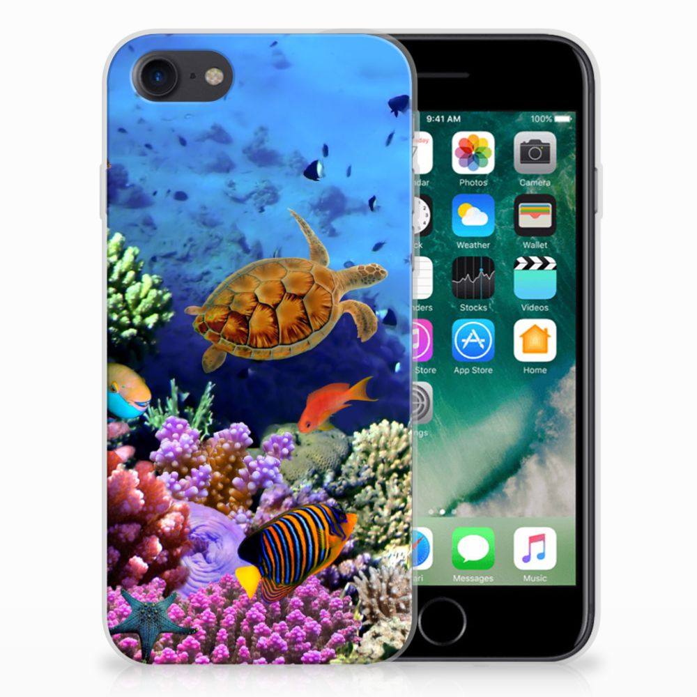 Apple iPhone 7 | 8 TPU Hoesje Vissen