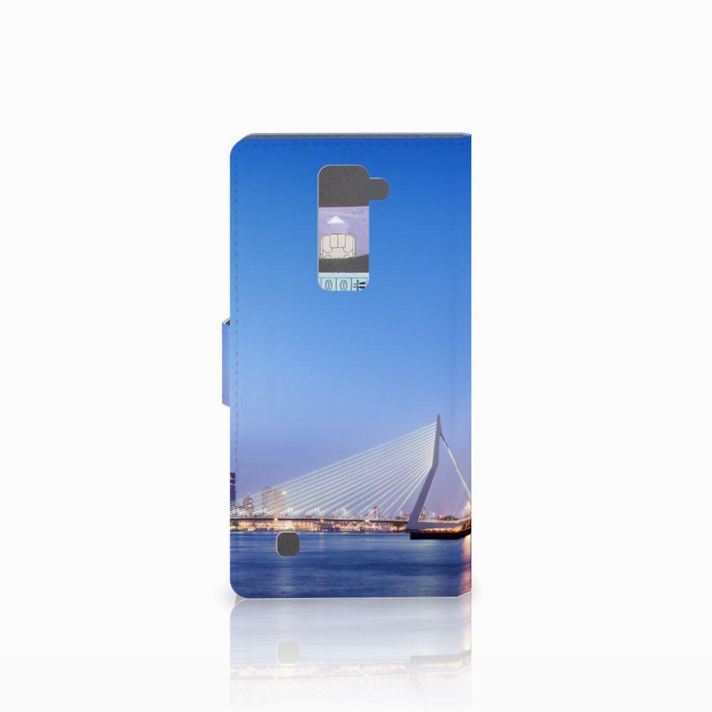 LG K10 2015 Flip Cover Rotterdam