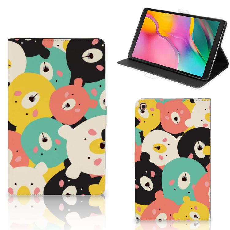 Samsung Galaxy Tab A 10.1 (2019) Hippe Tablet Hoes Bears