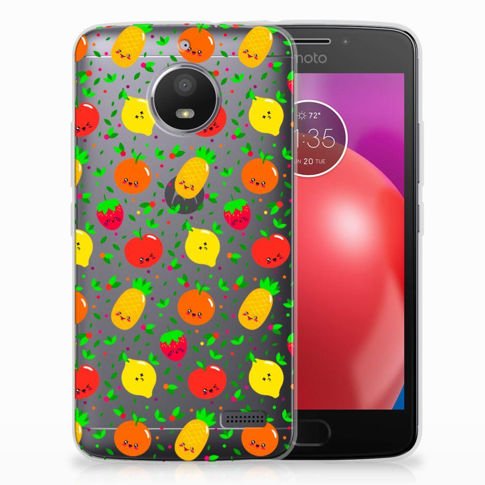 Motorola Moto E4 TPU Hoesje Design Fruits