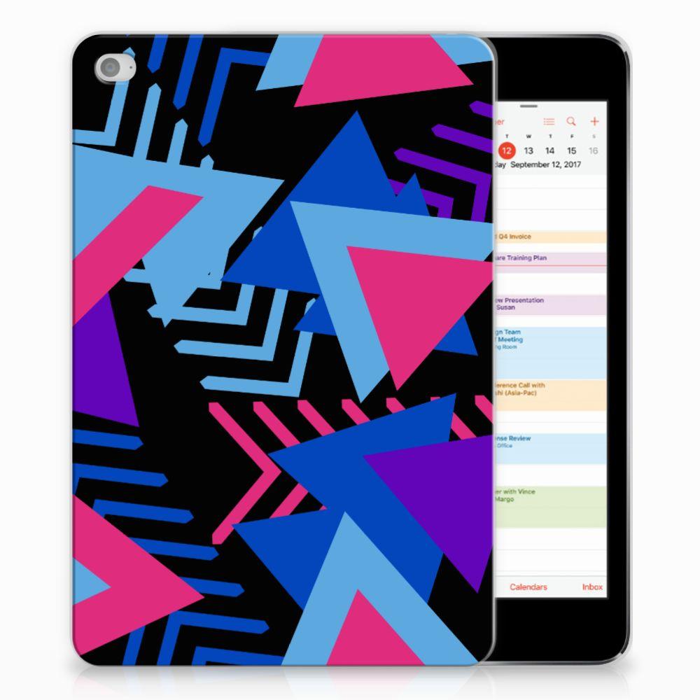 Apple iPad Mini 4   Mini 5 (2019) Back Cover Funky Triangle