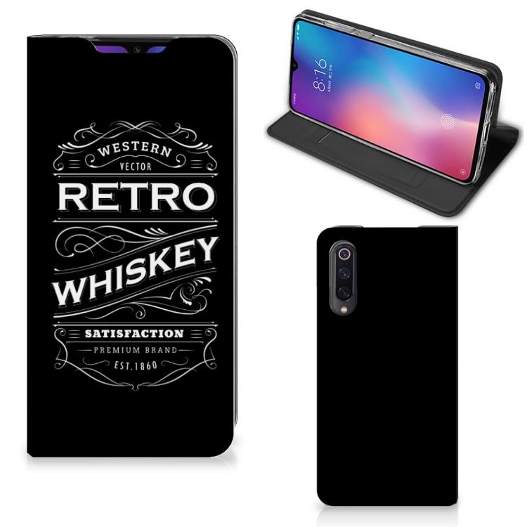 Xiaomi Mi 9 Flip Style Cover Whiskey