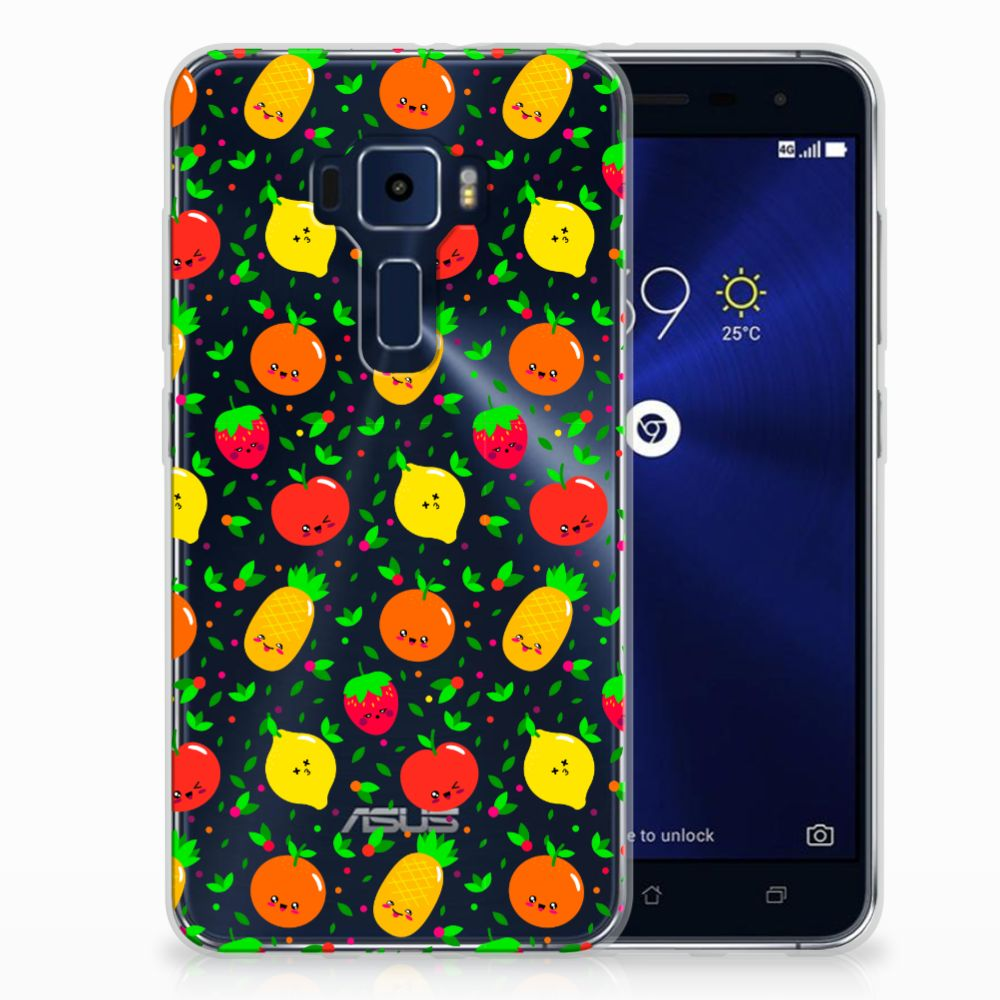 ASUS Zenfone 3 TPU Hoesje Design Fruits