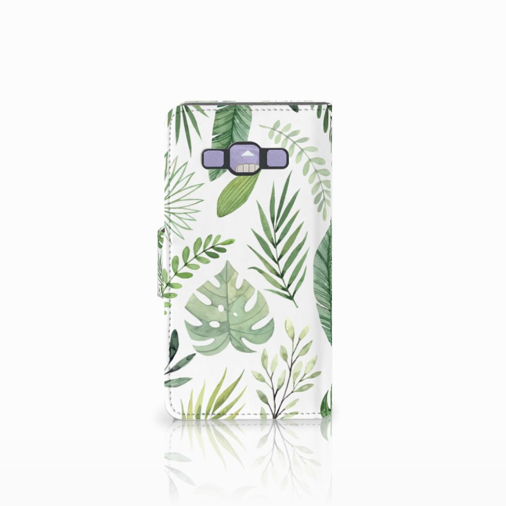 Samsung Galaxy A3 2015 Hoesje Leaves