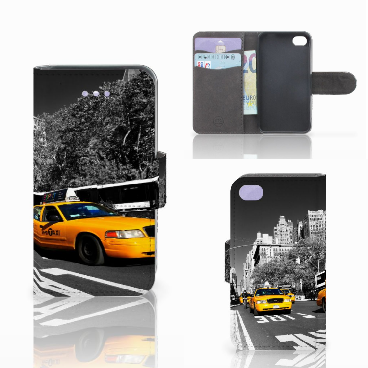 Apple iPhone 4 | 4S Flip Cover New York Taxi