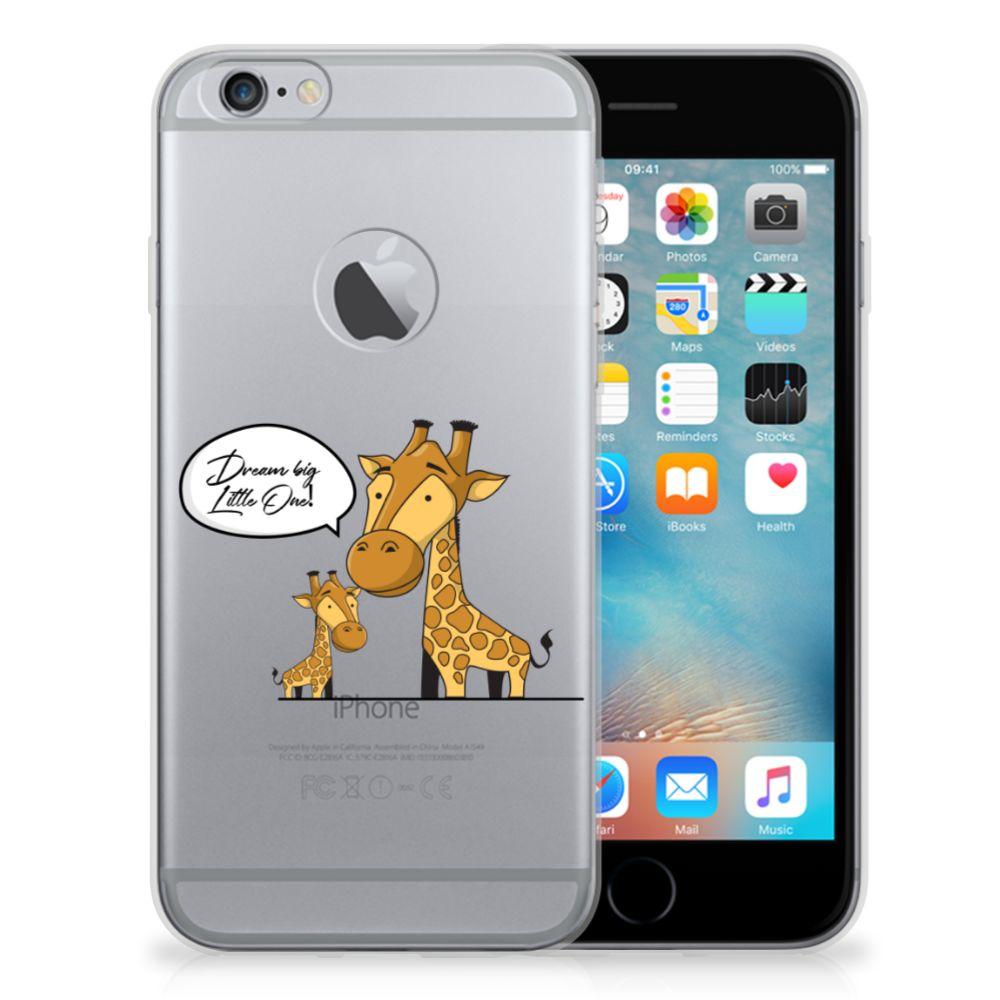 Apple iPhone 6 Plus | 6s Plus Telefoonhoesje met Naam Giraffe
