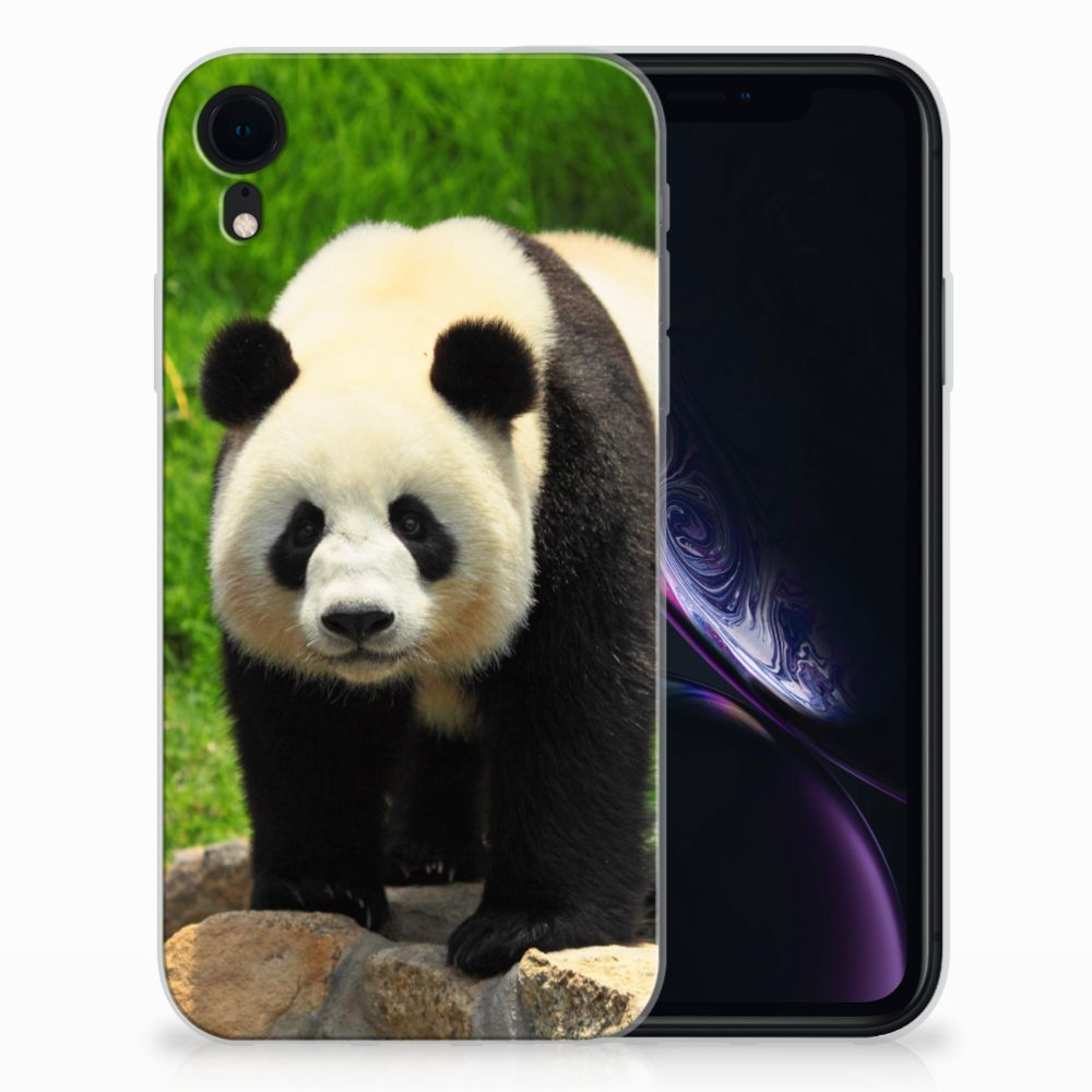 Apple iPhone Xr TPU Hoesje Panda