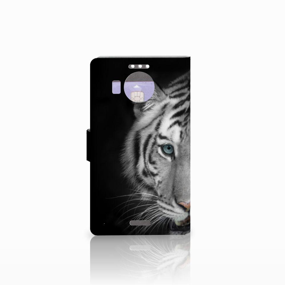 Microsoft Lumia 950 XL Telefoonhoesje met Pasjes Tijger