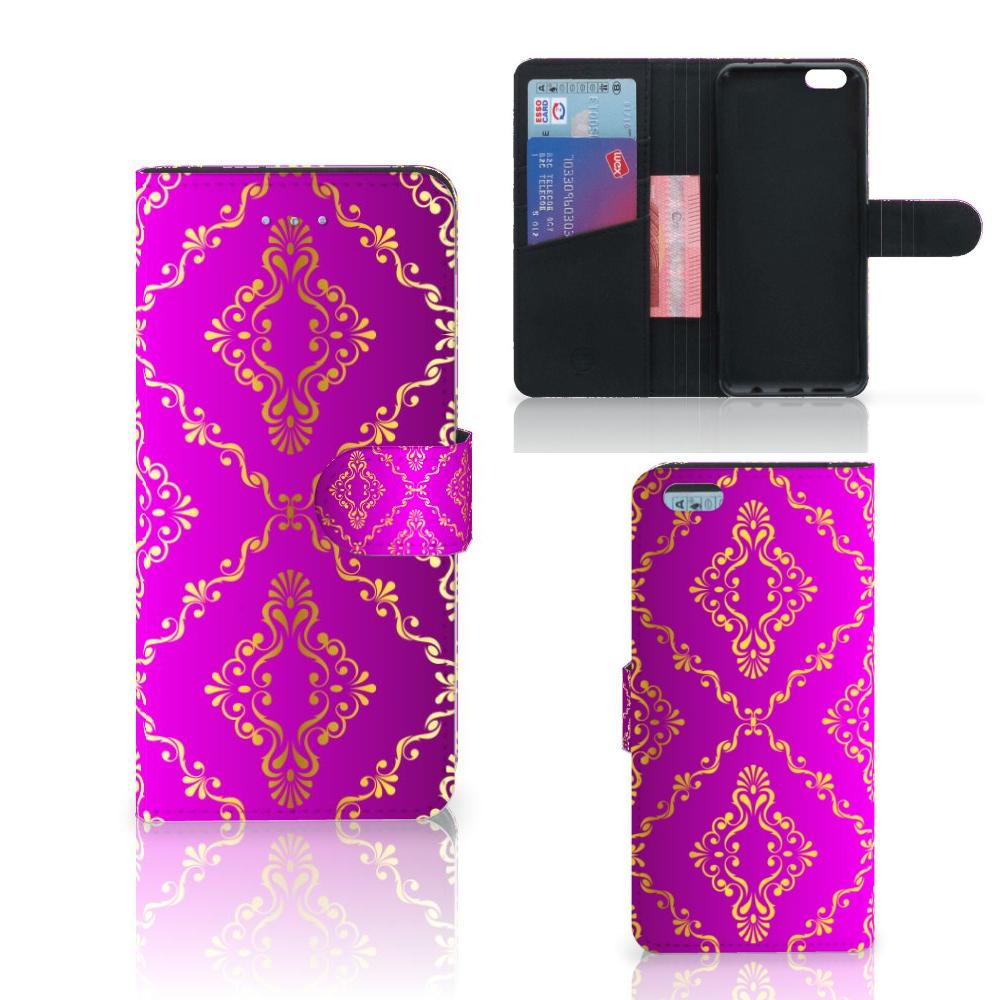 Wallet Case Apple iPhone 6 Plus   6s Plus Barok Roze