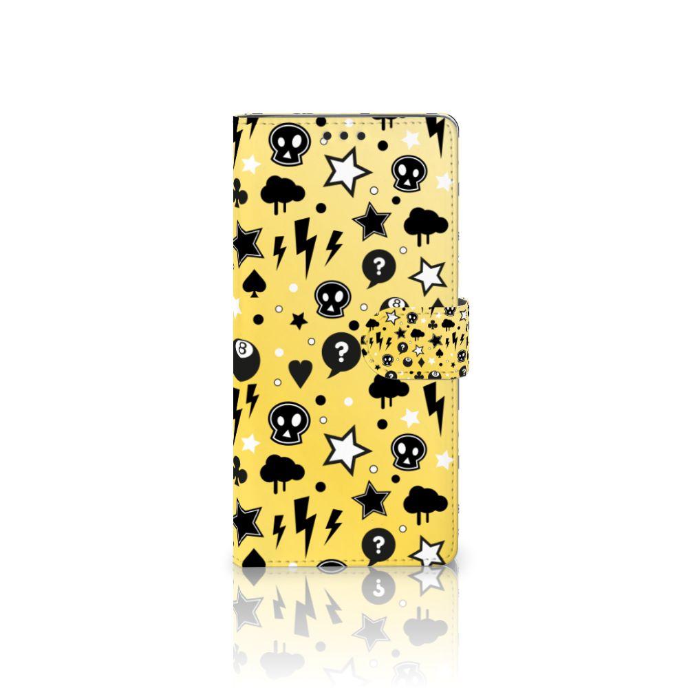 Sony Xperia XA Ultra Uniek Boekhoesje Punk Yellow