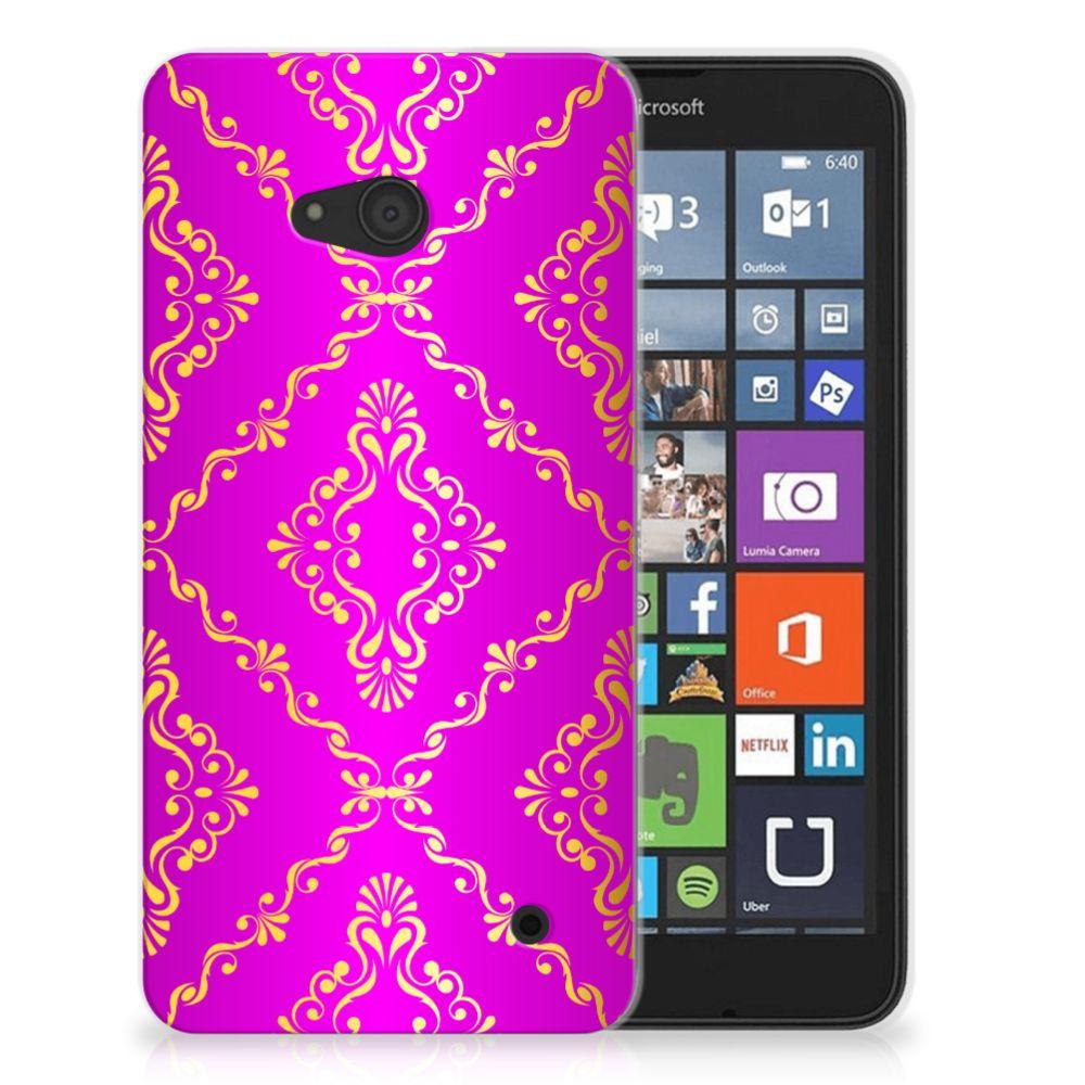 Siliconen Hoesje Microsoft Lumia 640 Barok Roze