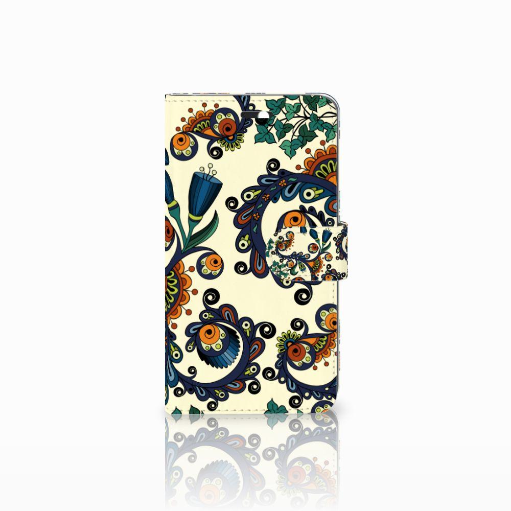 Huawei Y6 II   Honor 5A Boekhoesje Design Barok Flower