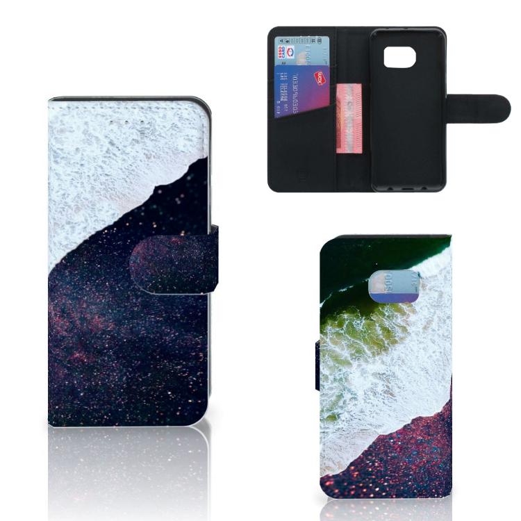 Samsung Galaxy S6 Edge Bookcase Sea in Space