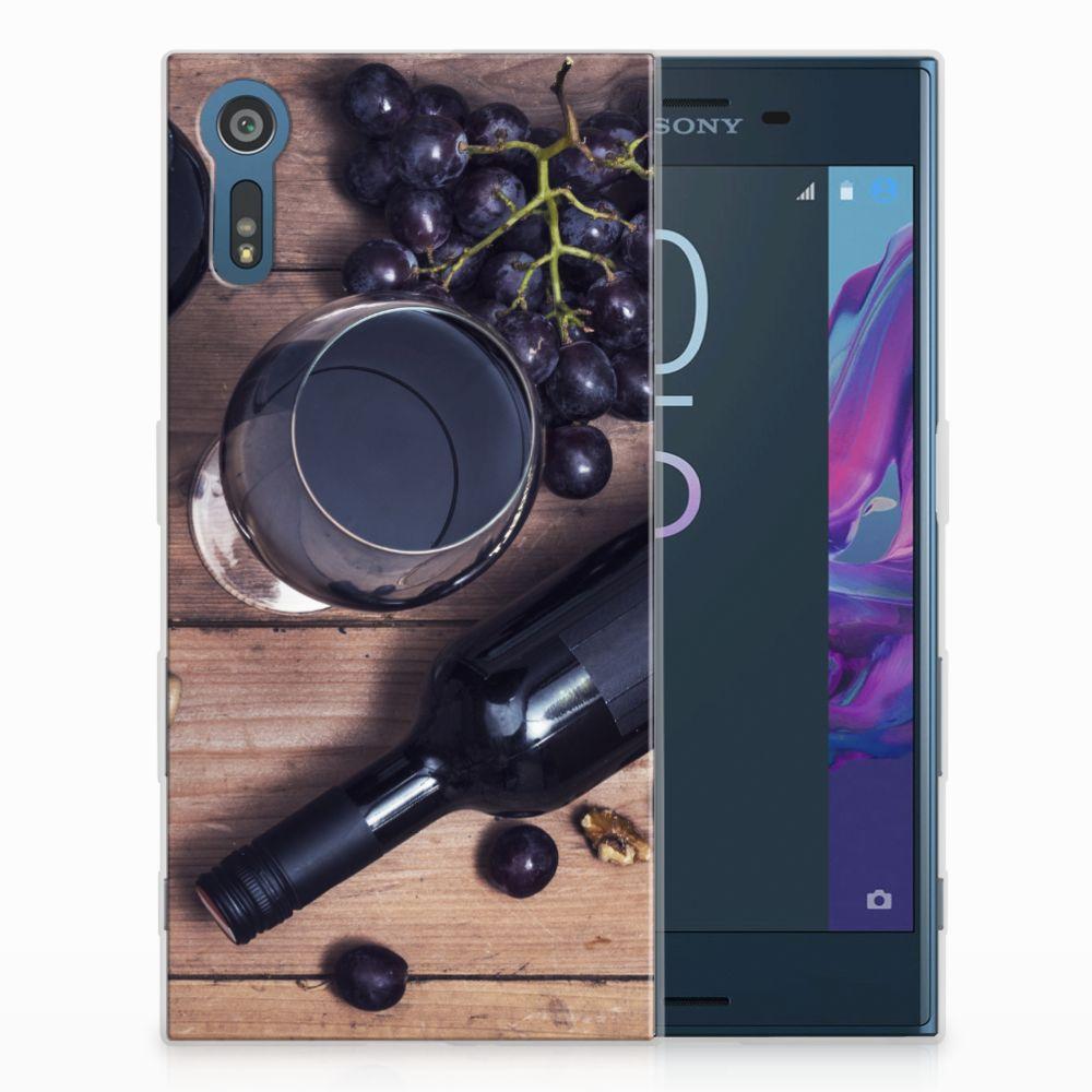 Sony Xperia XZs | XZ Uniek TPU Hoesje Wijn