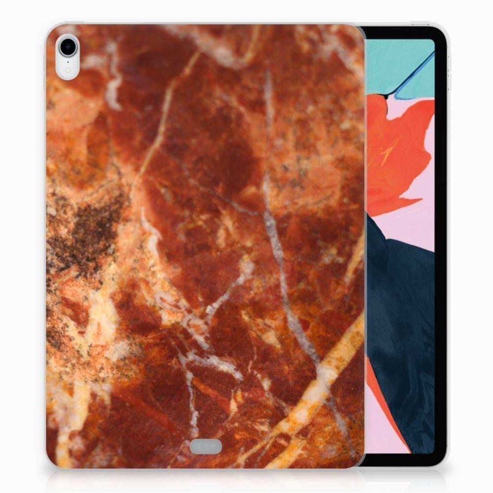 Apple iPad Pro 11 inch (2018) Tablethoesje Design Marmer Bruin