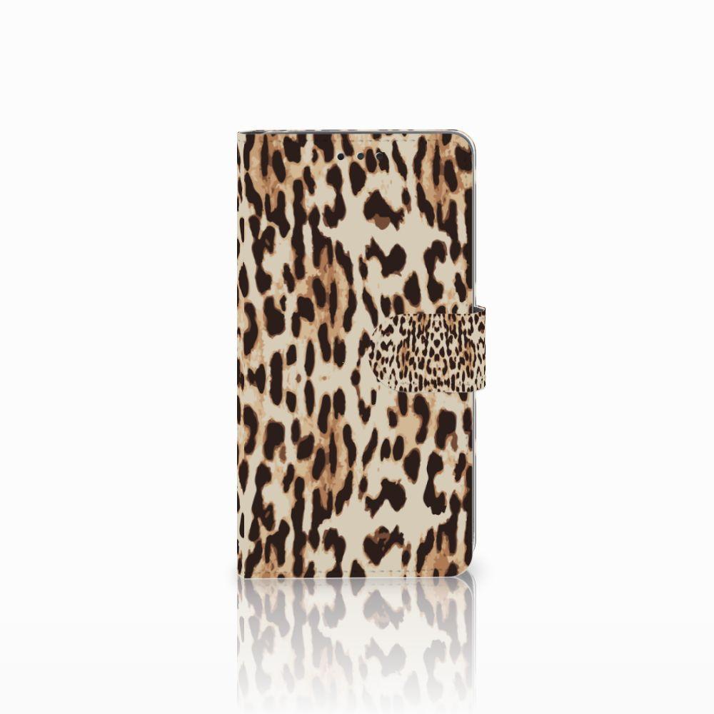 LG G4 Uniek Boekhoesje Leopard
