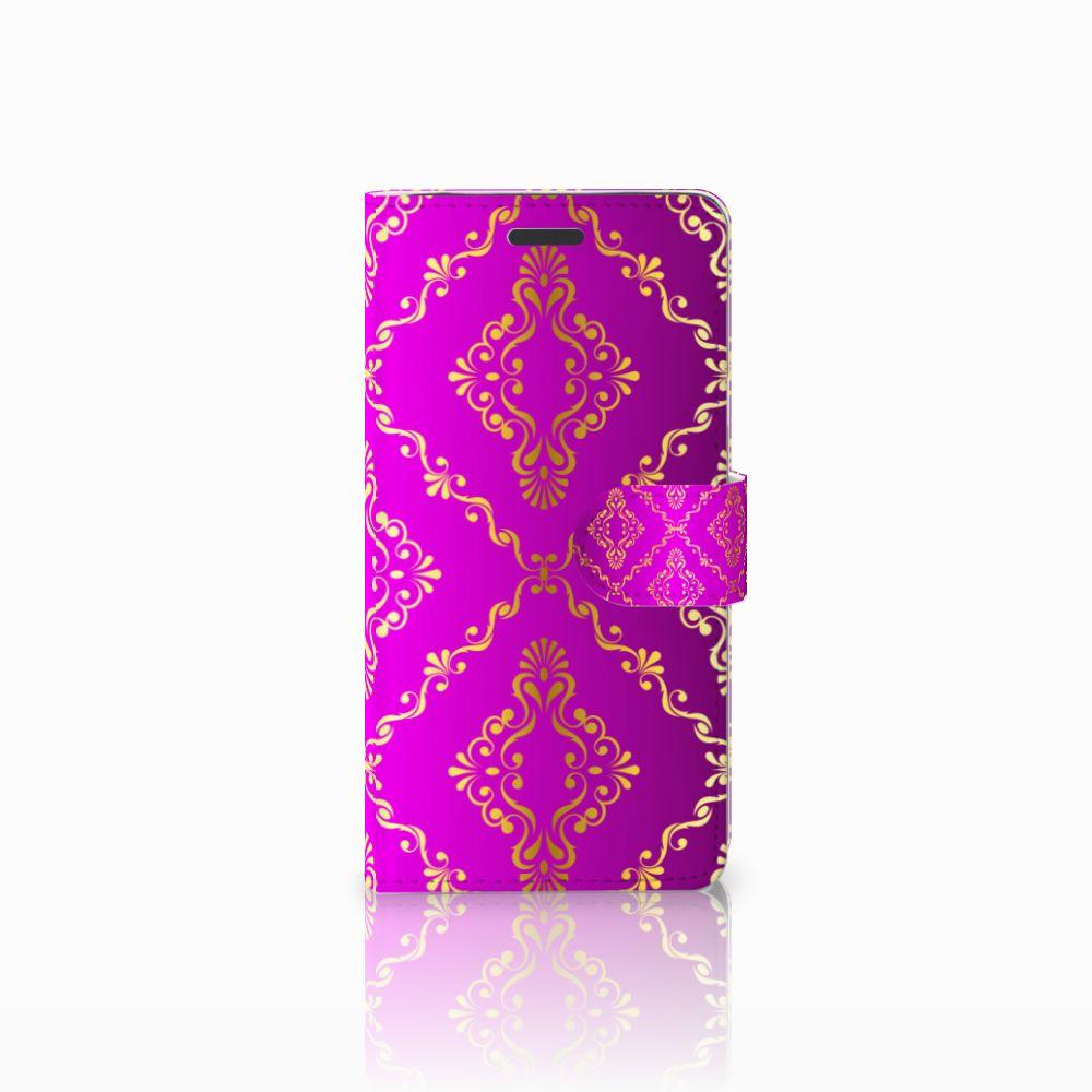 Samsung Galaxy Note 5 Uniek Boekhoesje Barok Roze