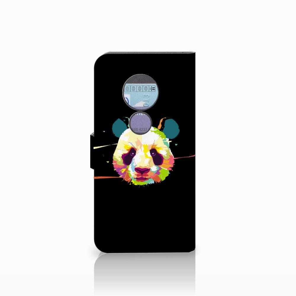 Motorola Moto G6 Play Leuke Hoesje Panda Color