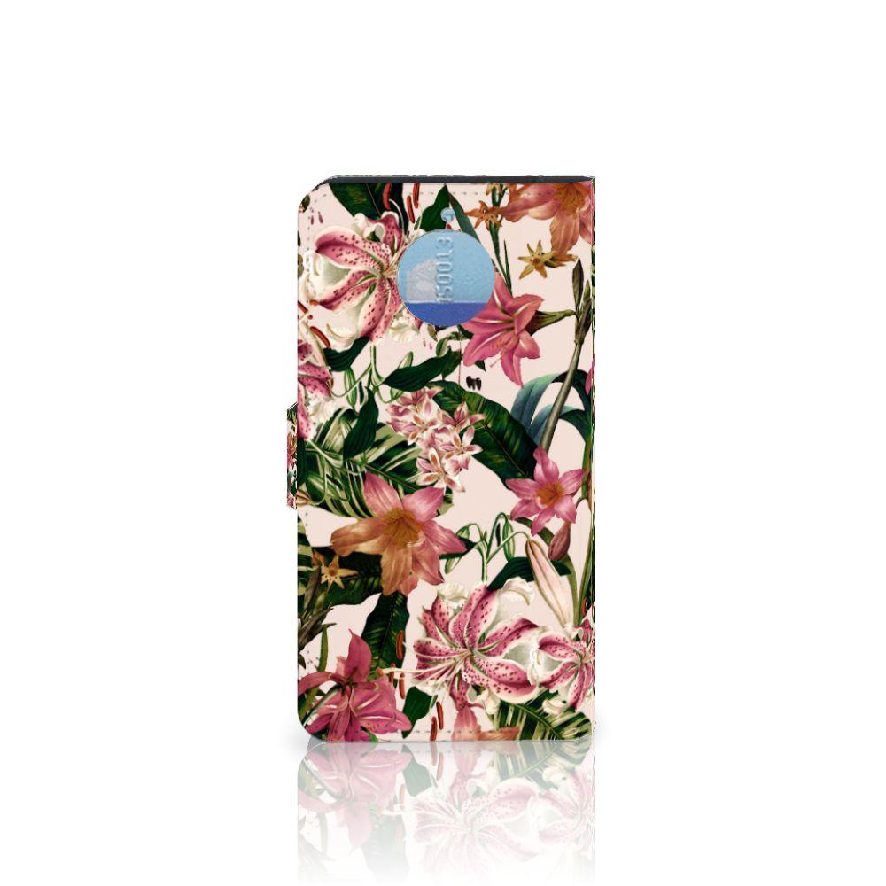 Motorola Moto G5S Plus Hoesje Flowers