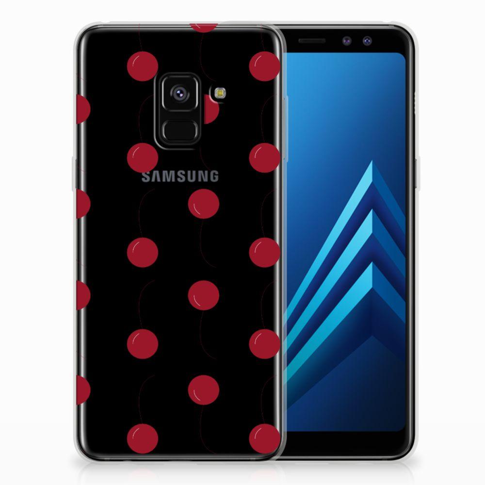 Samsung Galaxy A8 (2018) Siliconen Case Cherries