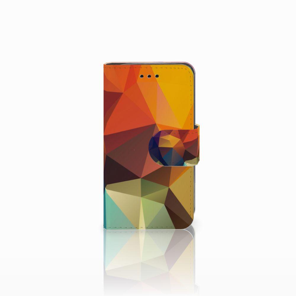 Samsung Galaxy Trend 2 Boekhoesje Design Polygon Color