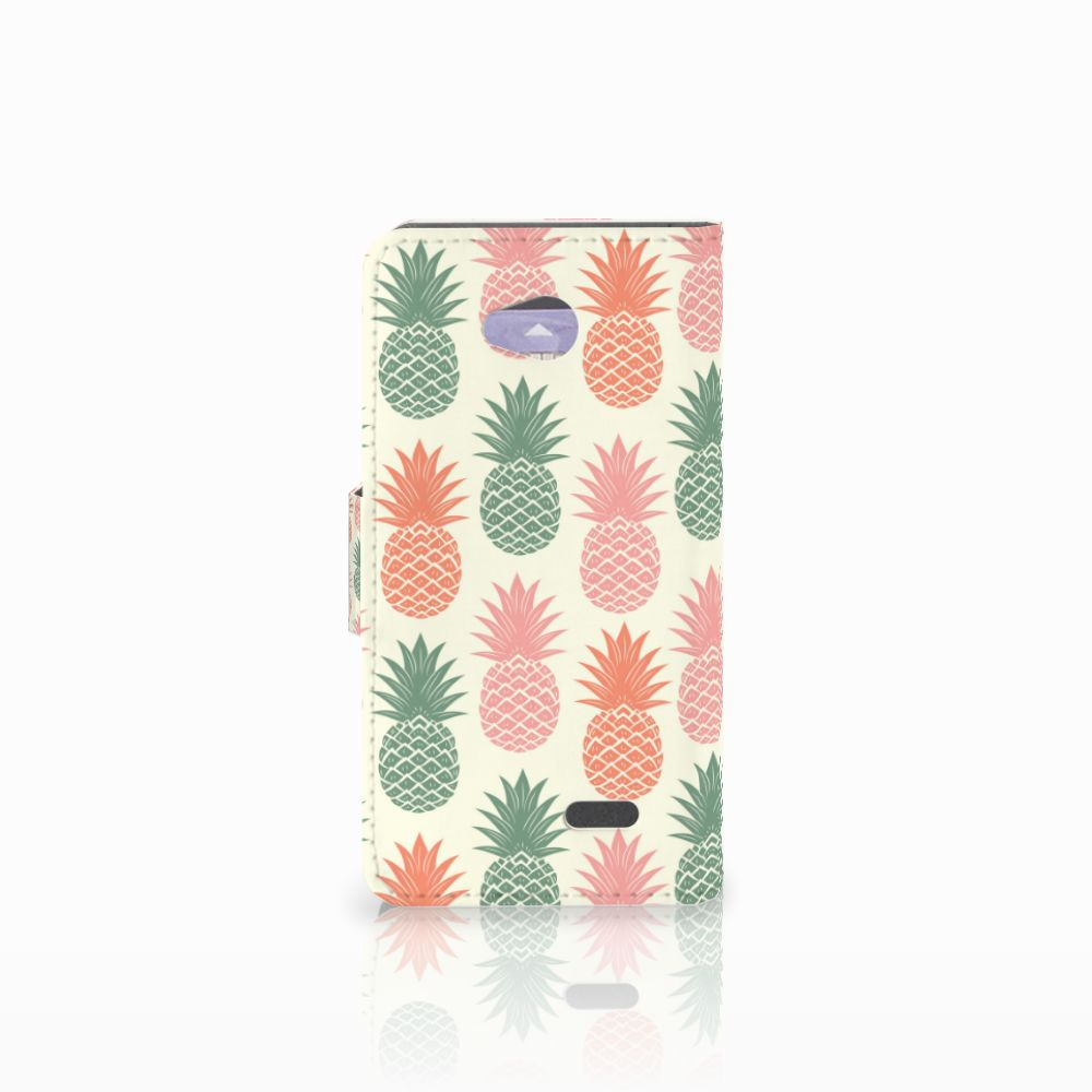 LG L70 Book Cover Ananas