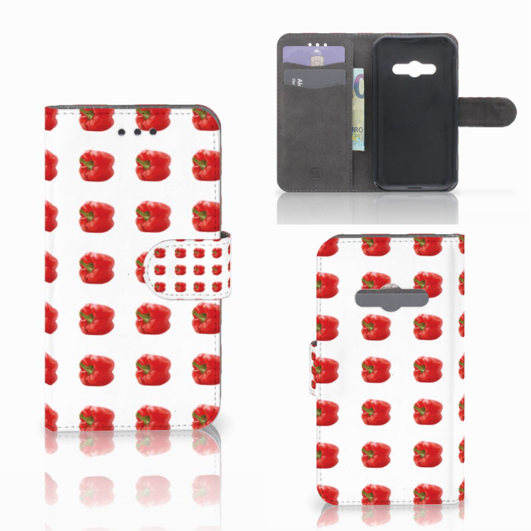 Samsung Galaxy Xcover 3 | Xcover 3 VE Book Cover Paprika Red