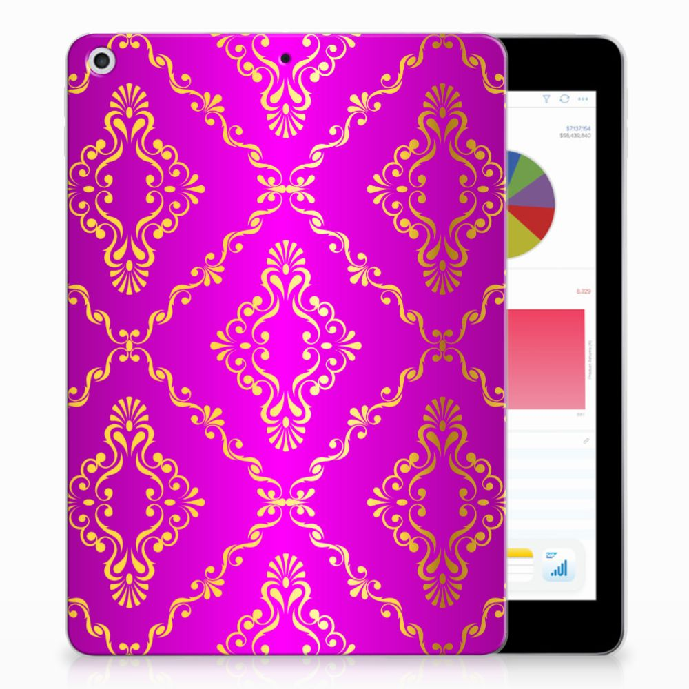 TPU Case Apple iPad 9.7 2018 | 2017 Barok Roze