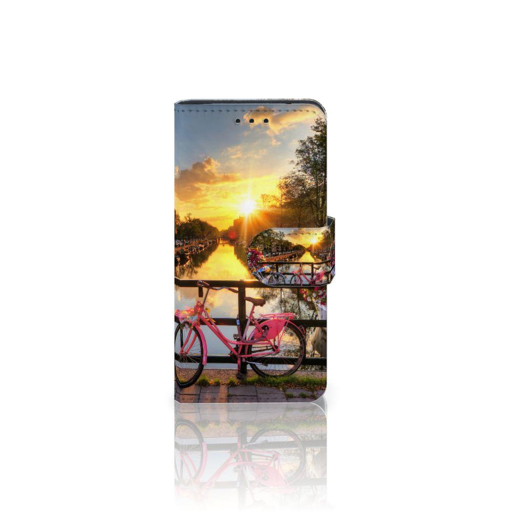 Samsung Galaxy S5 Mini Uniek Boekhoesje Amsterdamse Grachten
