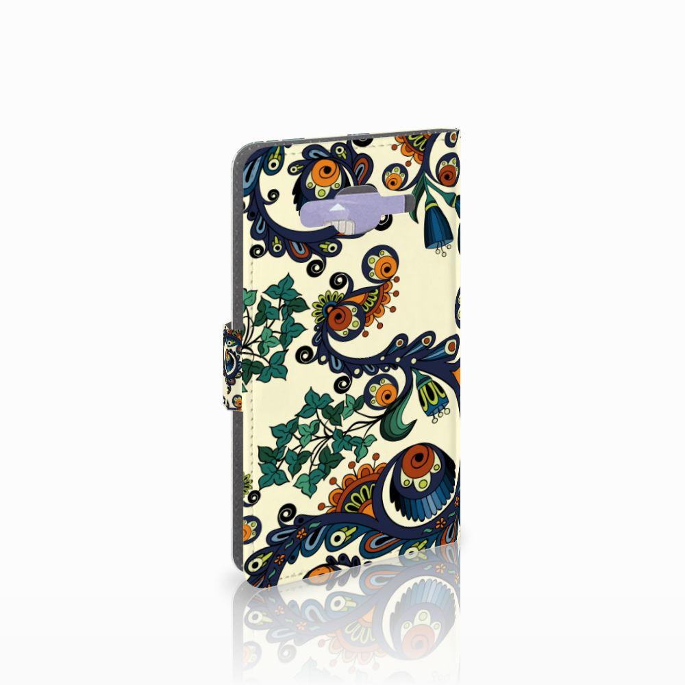 Samsung Galaxy J5 (2015) Boekhoesje Design Barok Flower