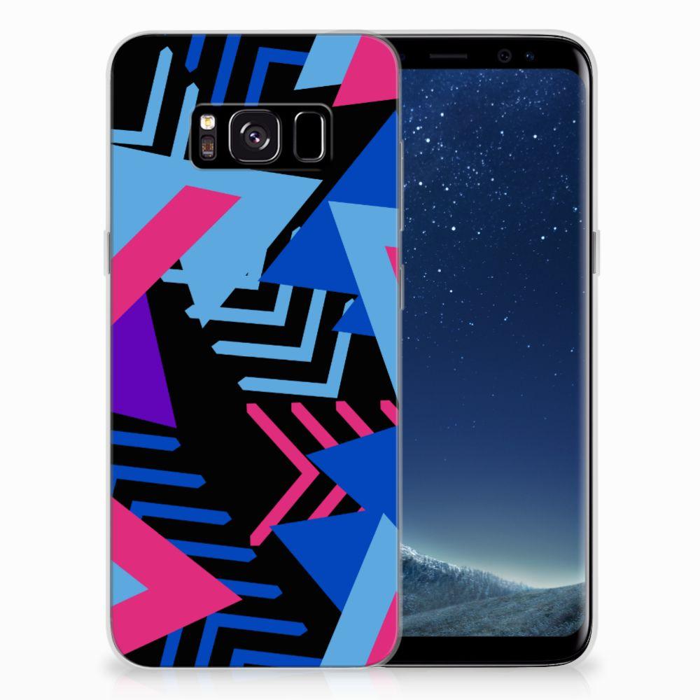 Samsung Galaxy S8 TPU Hoesje Funky Triangle