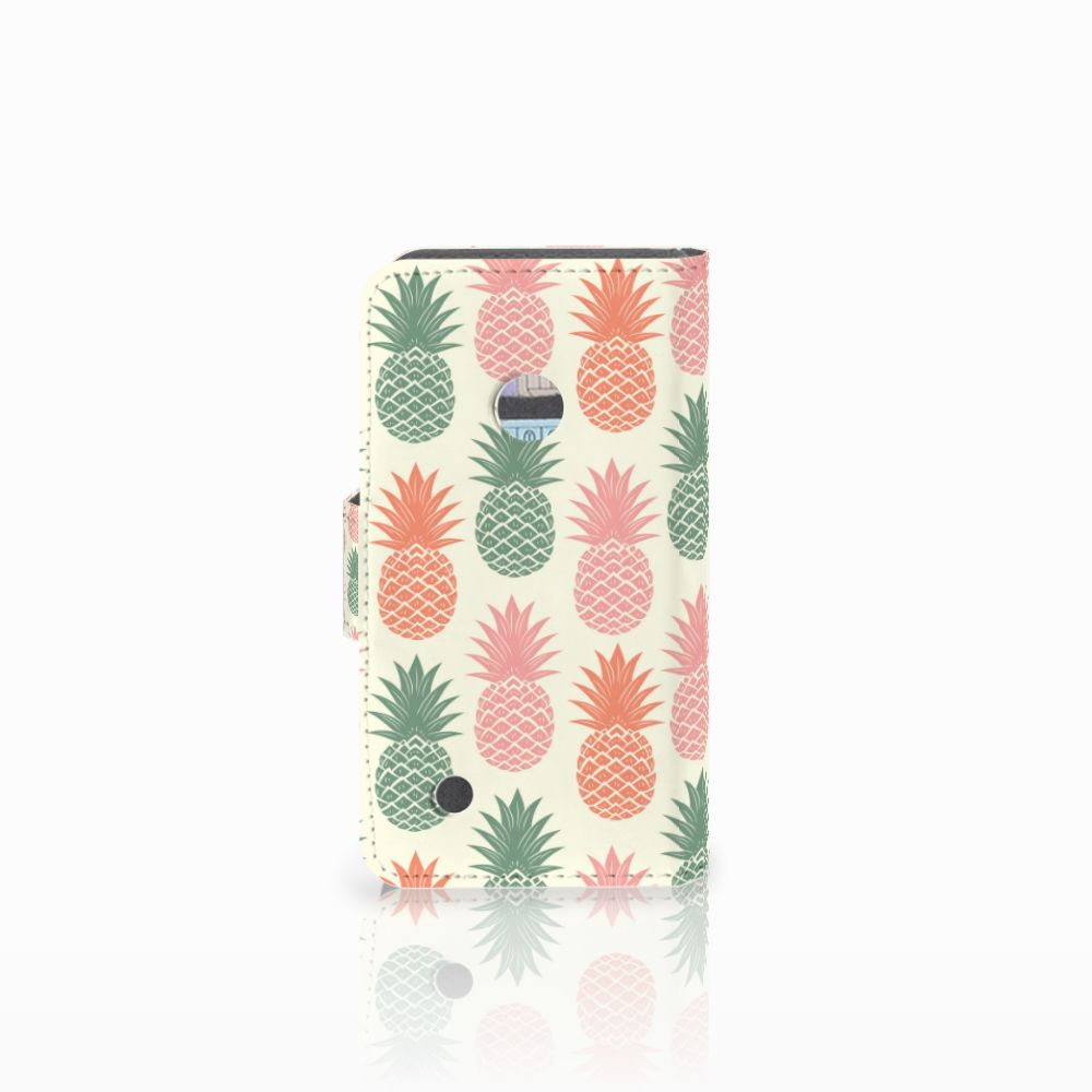 Nokia Lumia 530 Book Cover Ananas