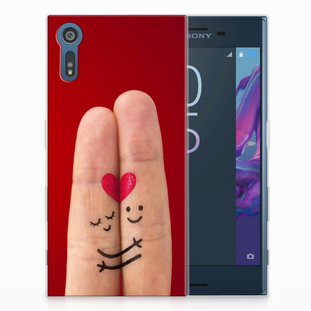 Sony Xperia XZs | XZ Uniek TPU Hoesje Liefde