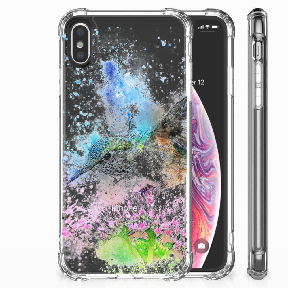 Apple iPhone X | Xs TPU Hoesje Design Vogel