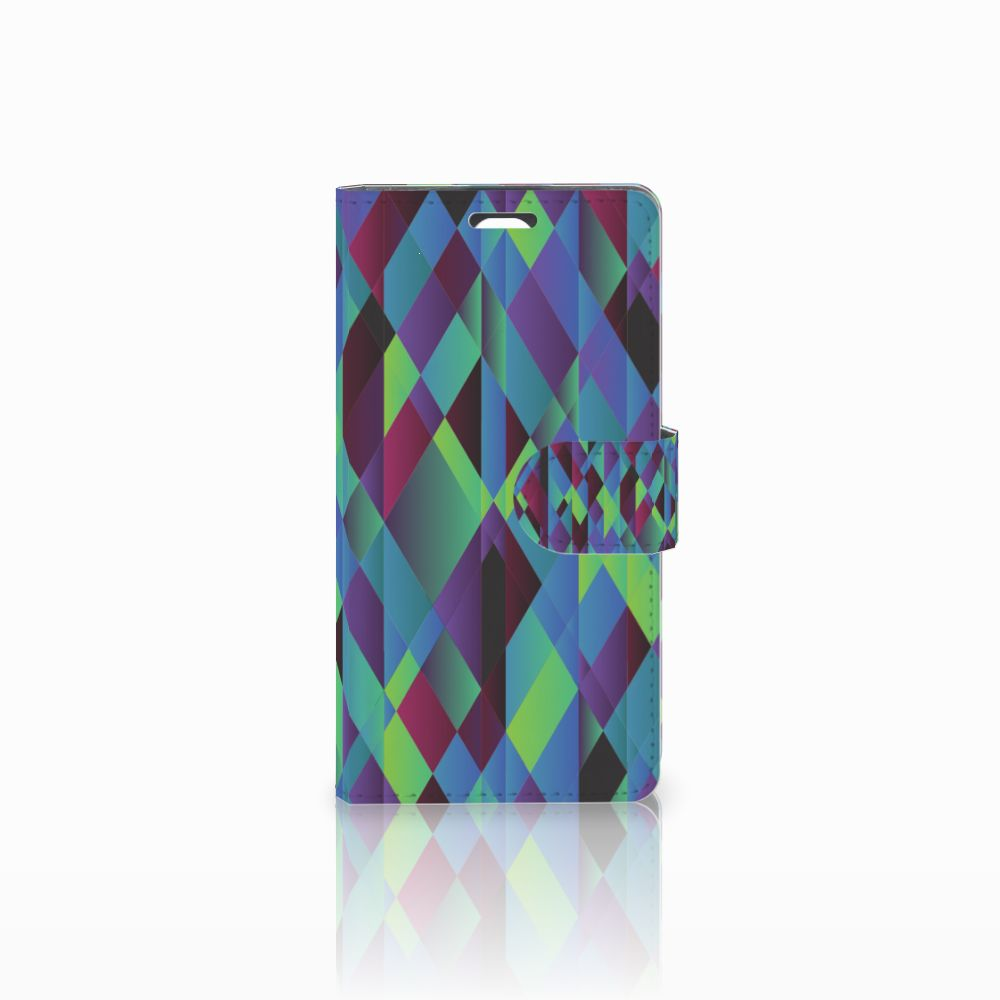 LG Magna | G4C Bookcase Abstract Green Blue