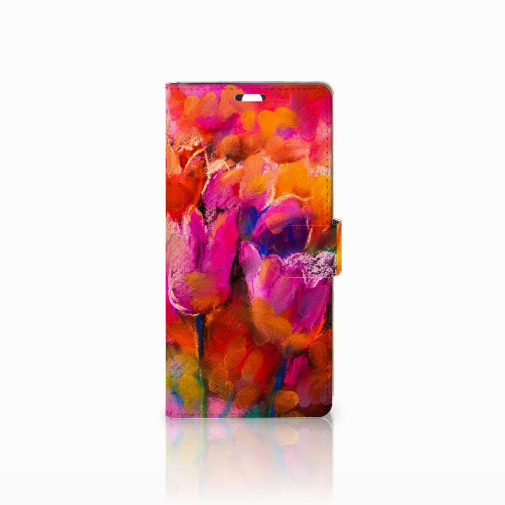 Sony Xperia C5 Ultra Boekhoesje Design Tulips
