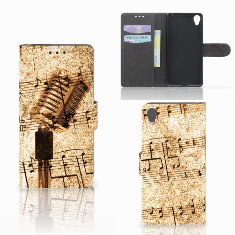 Sony Xperia X Telefoonhoesje met foto Bladmuziek